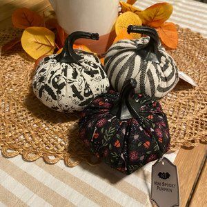 Target Fall Pumpkins - Set of 3